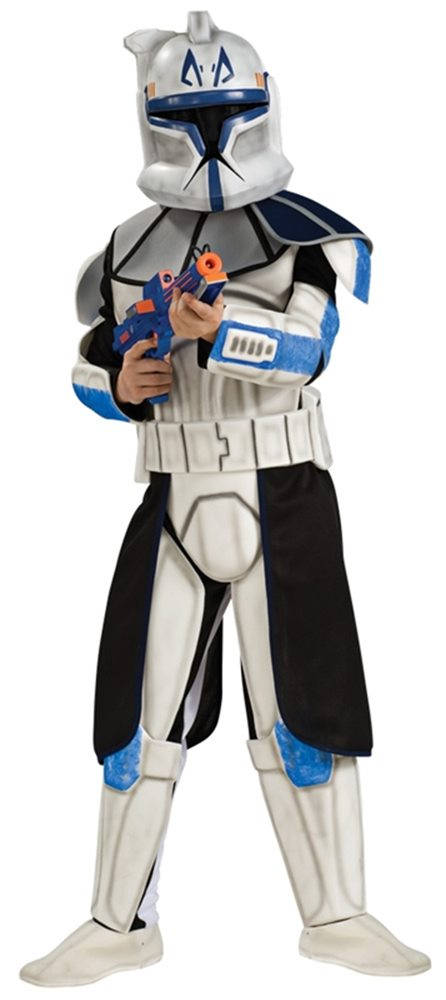 Picture of Star Wars Deluxe Clone Trooper Captain Rex Child Costume