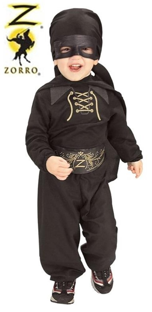 Picture of Flannel Zorro Infant & Toddler Costume