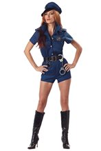 Picture of Sexy Cop Lady Adult Womens Costume