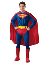 Picture of Muscle Chest Superman Deluxe Adult Mens Costume