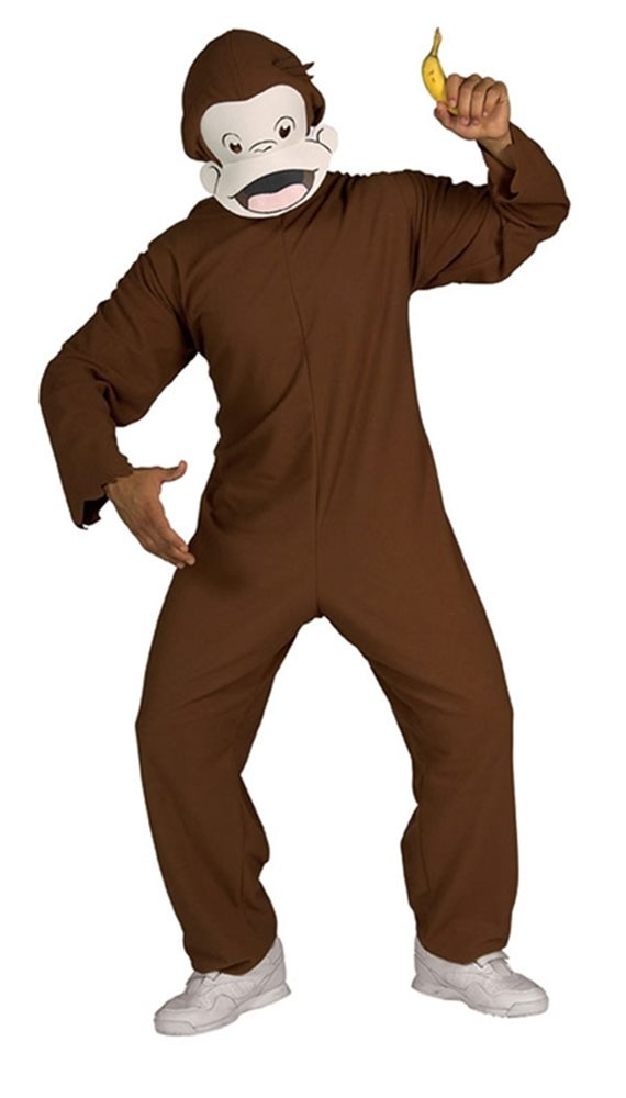Picture of Curious George Adult Mens Costume
