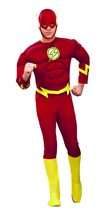 Picture of The Flash Deluxe Muscle Chest Adult Mens Costume