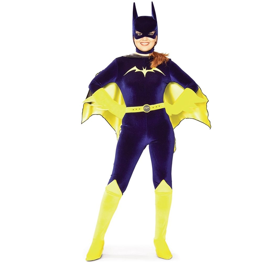 Picture of Bat Girl Velvet Adult Costume
