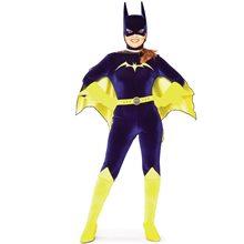 Picture of Bat Girl Velvet Adult Costume