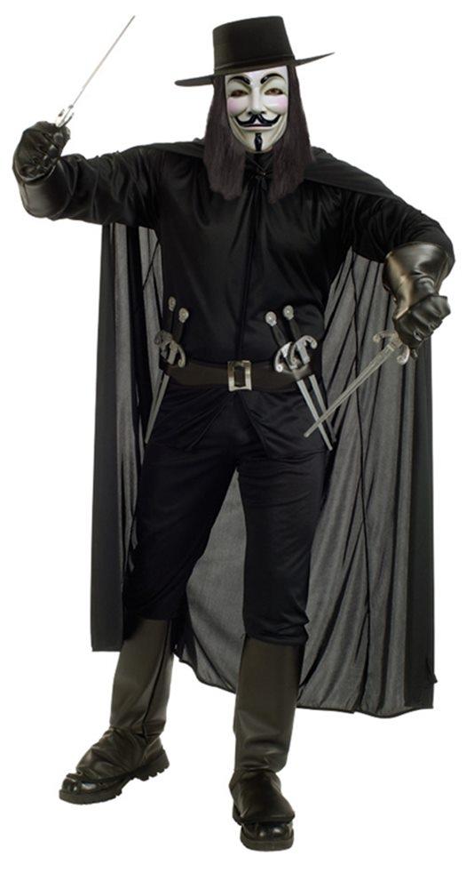 Picture of V for Vendetta Adult Mens Costume