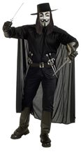 Picture of V for Vendetta Adult Mens Costume