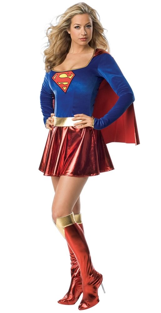 Picture of Supergirl Adult Womens Costume