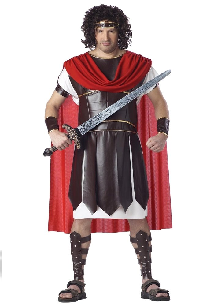 Picture of Hercules Adult Mens Plus Size Costume