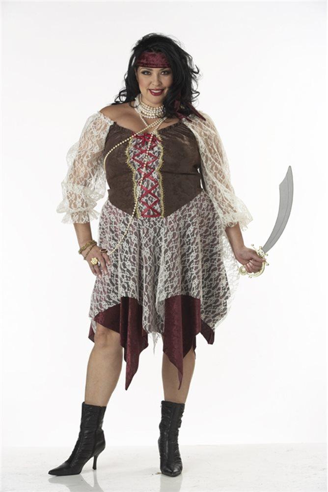 Picture of South Sea Siren Pirate Plus Size Costume