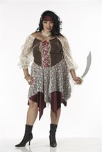Picture of South Sea Siren Pirate Plus Size Costume