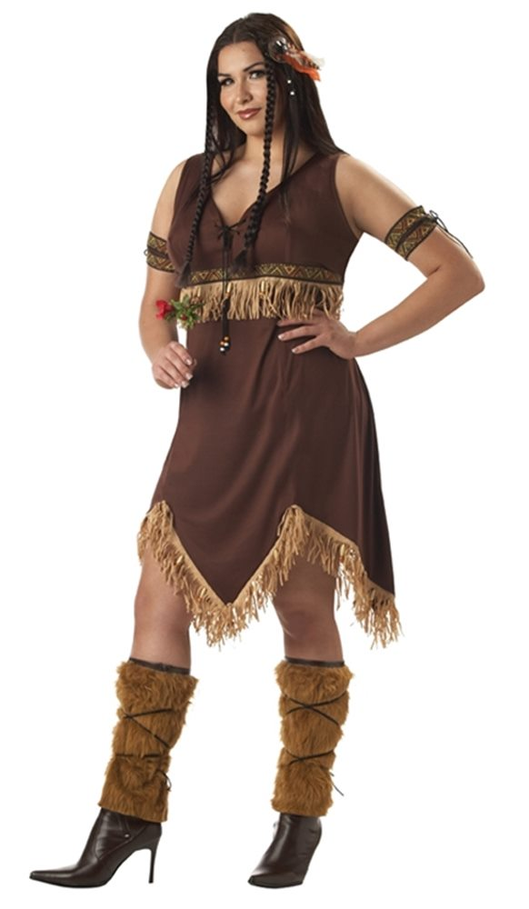Picture of Sexy Indian Princess Plus Size Adult Womens Costume