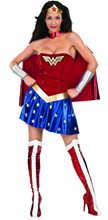 Picture of Wonder Woman Deluxe Adult Womens Costume