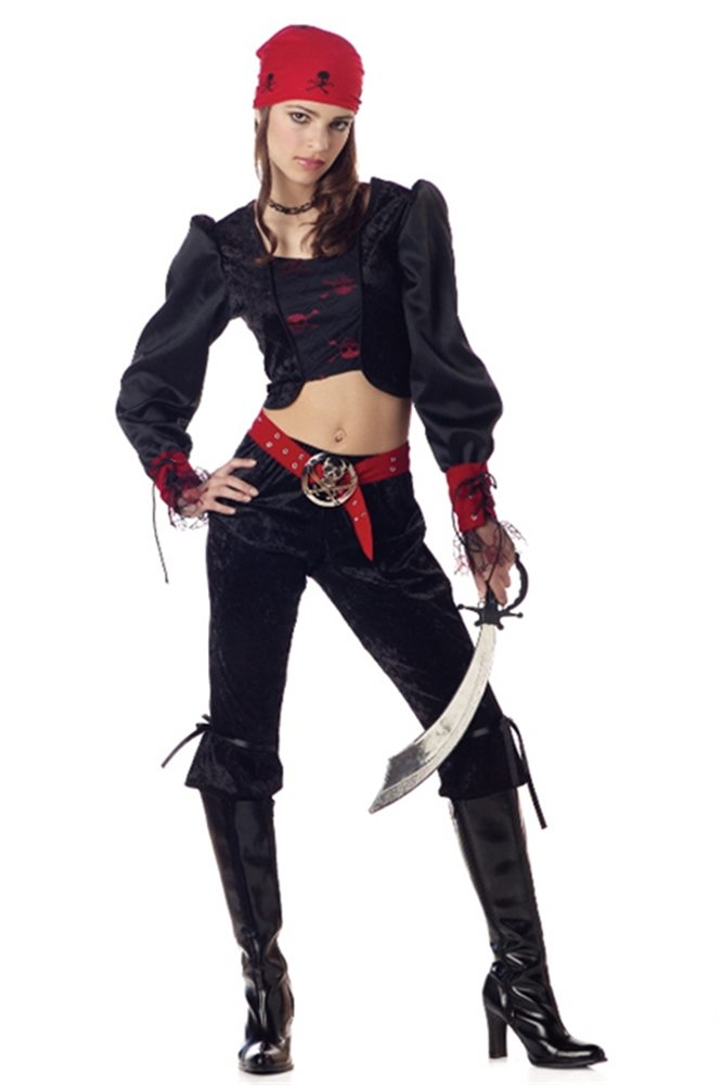 Picture of Gothic Pirate Tween Costume