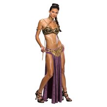 Picture of Star Wars Sexy Princess Leia Slave Adult Womens Costume