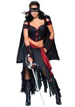 Picture of Lady Zorro Costume