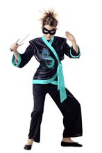 Picture of Jewel Dragon Ninja Child Costume