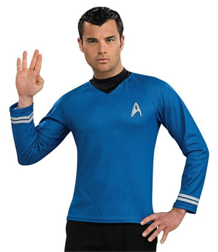 Picture of Star Trek Movie Spock Shirt Adult Mens Costume