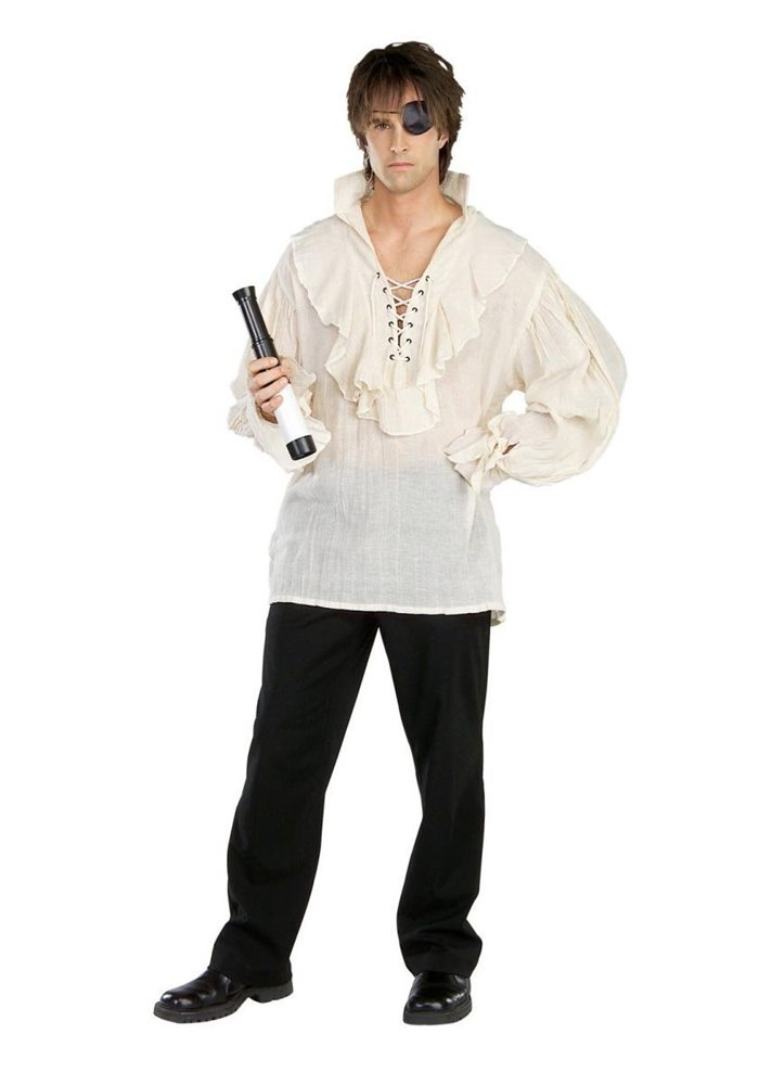 Picture of Pirate Shirt Adult Mens Costume