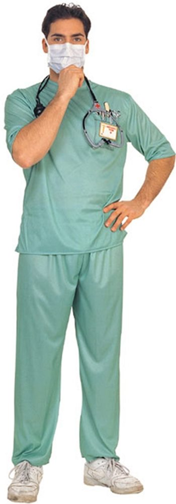 Picture of Emergency Room Male Surgeon Adult Mens Costume