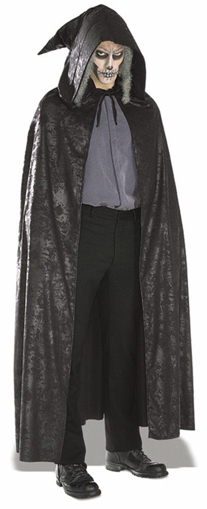 Picture of Black Suede Cape Costume