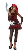 Picture of Pirate Girl Cutie Tween Costume