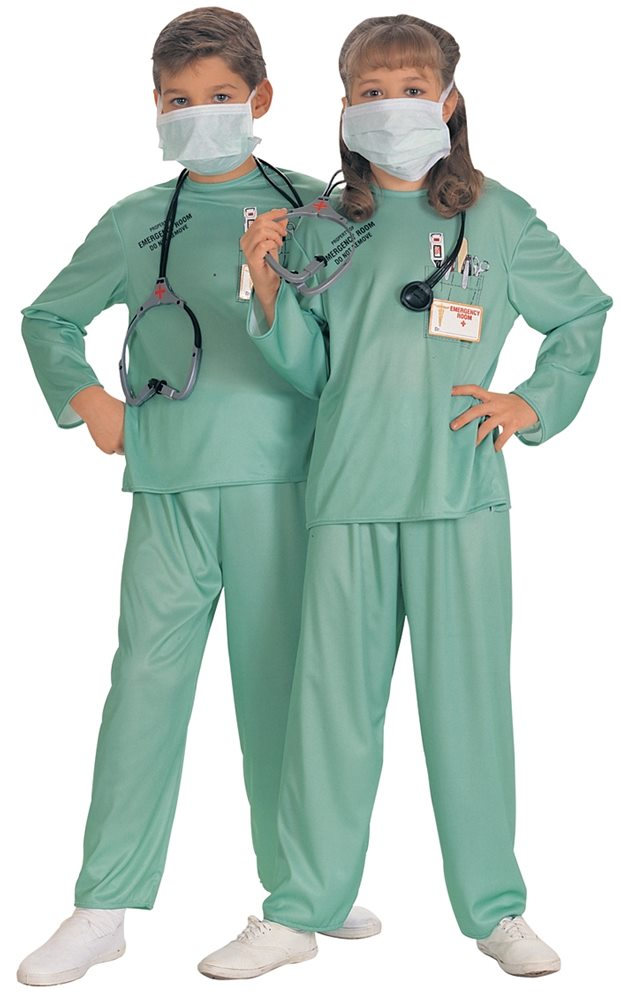 Picture of E.R. Doctor Child Costume