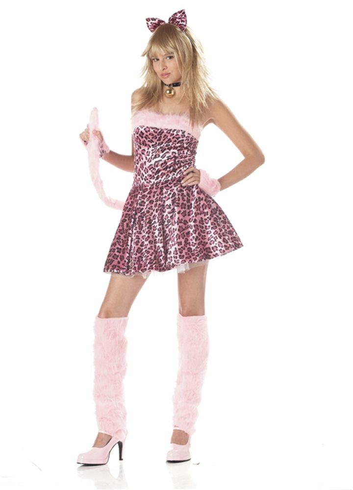 Picture of Purrty Kitty Teen Costume
