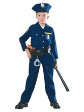 Picture of Police Officer Child Costume