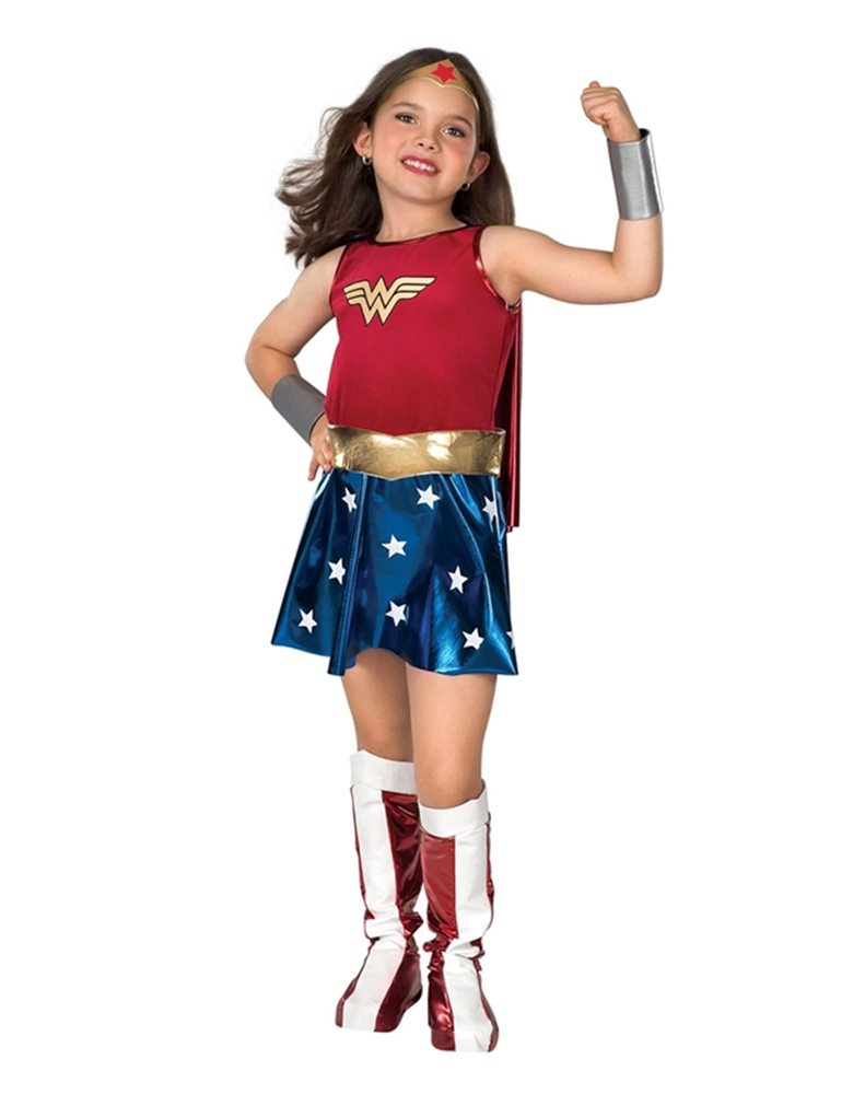 Picture of Deluxe Wonder Woman Child Costume