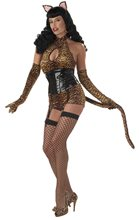 Picture of Bettie Page with Cat Tail Adult Costume