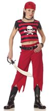 Picture of Hip Punk Pirate Child Costume