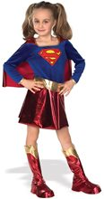 Picture of Deluxe Supergirl Child Costume