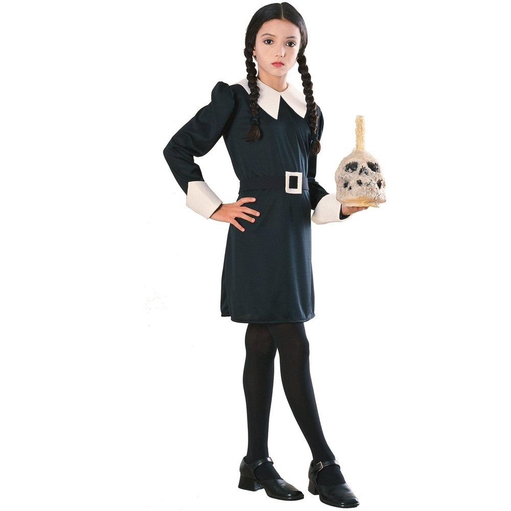 Picture of The Addams Family Wednesday Child Costume
