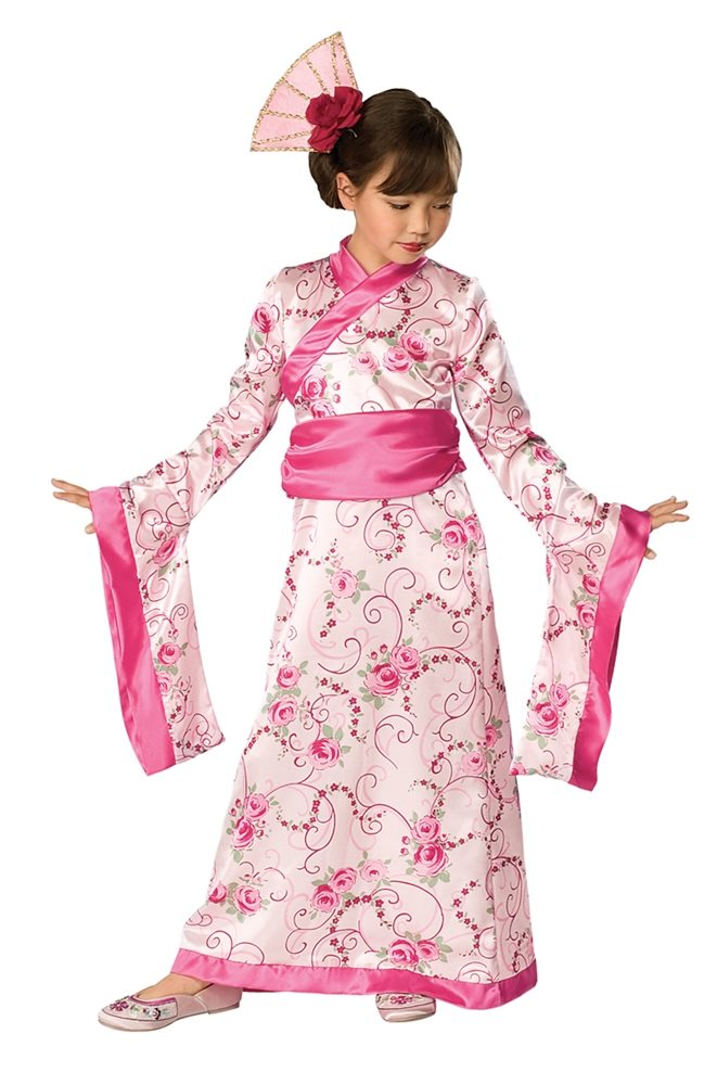 Picture of Asian Princess Child Costume