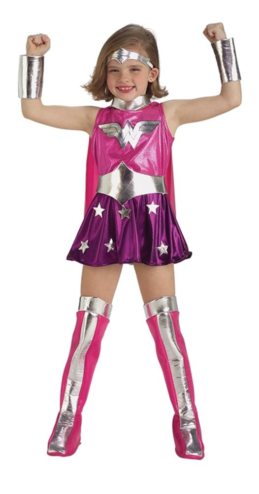 Picture of Wonder Woman Pink Child Costume