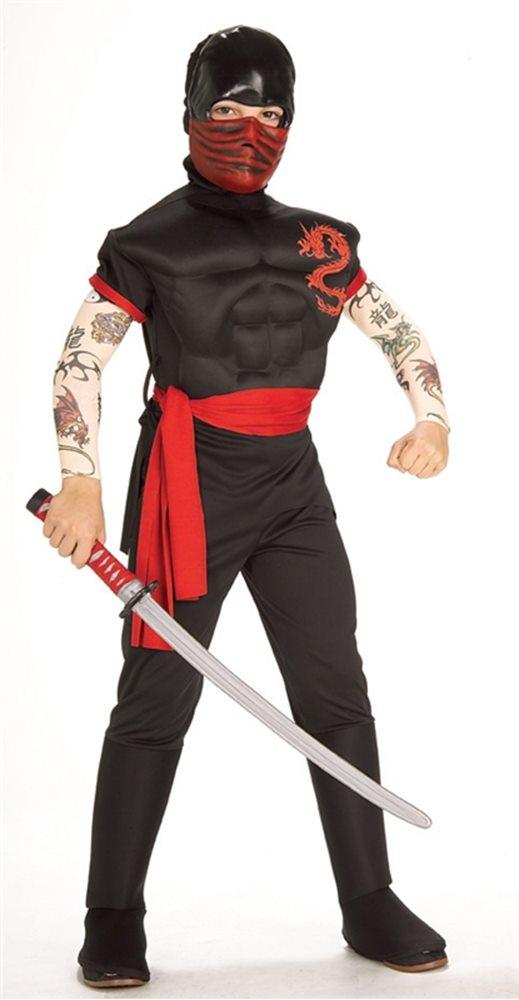Picture of Ninja Warrior Child Costume