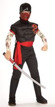 Picture of Ninja Warrior Child Costume