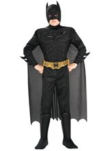 Picture of Batman The Dark Knight Deluxe Muscle Child Costume
