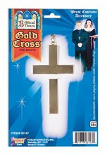 Picture of Metal Gold Cross