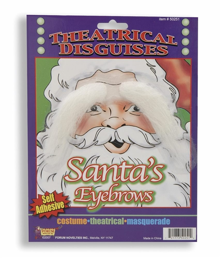 Picture of Santa Eyebrows