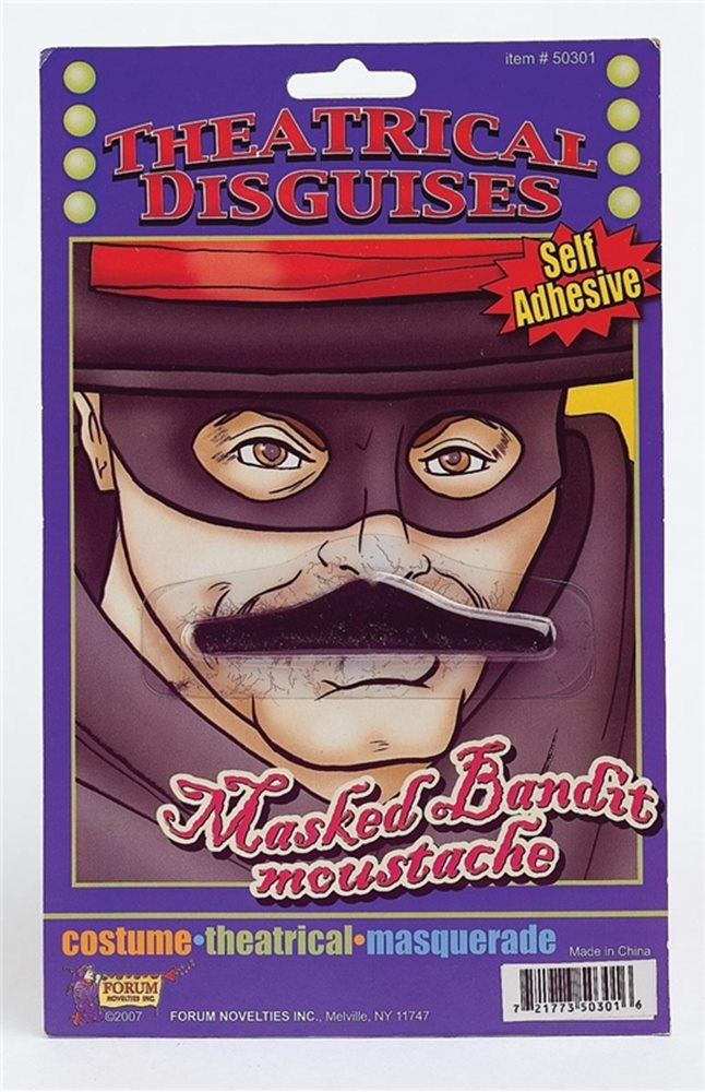 Picture of Masked Bandit Moustache