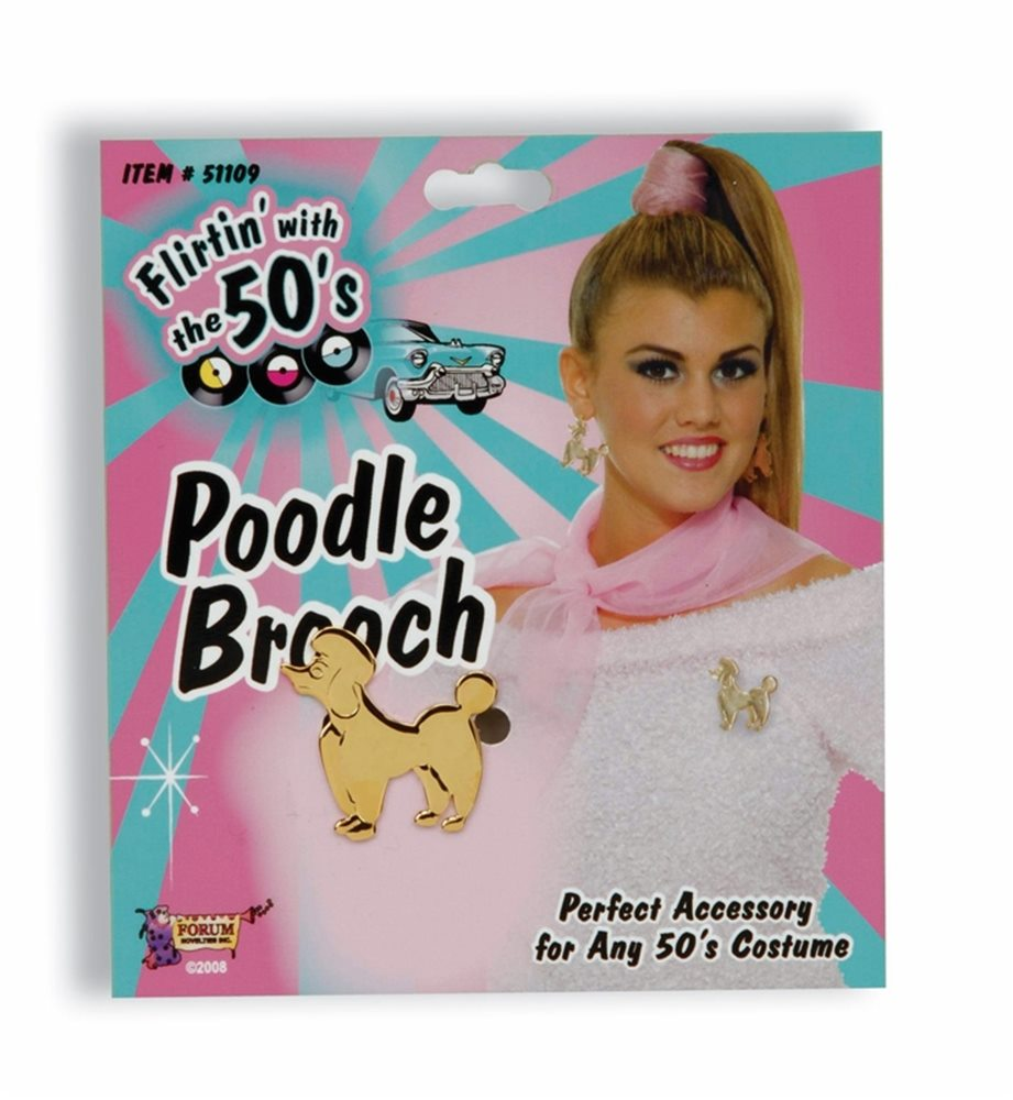 Picture of Poodle Brooch