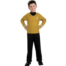Picture of Star Trek Movie Captain Kirk Shirt Child Costume