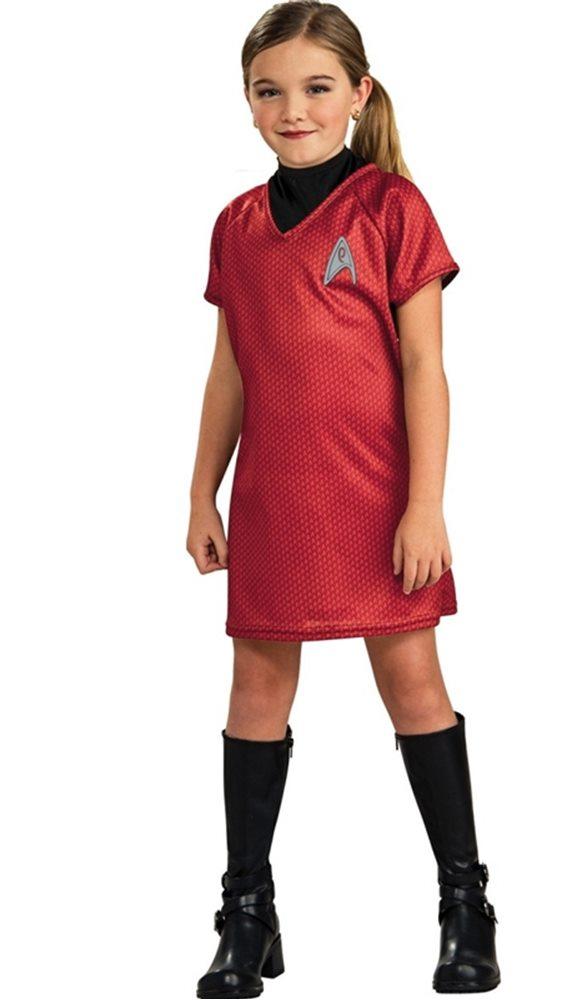 Picture of Star Trek Movie Uhura Dress Child Costume