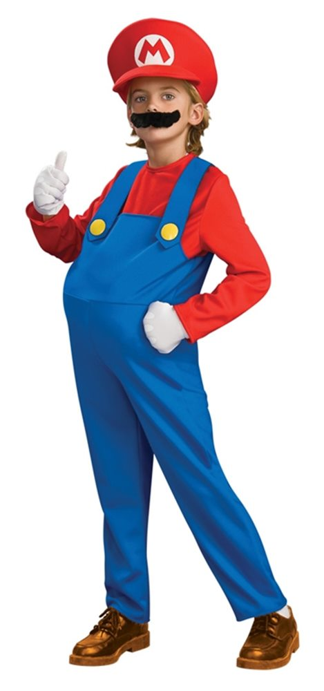 Picture of Deluxe Mario Brothers Mario Child Costume