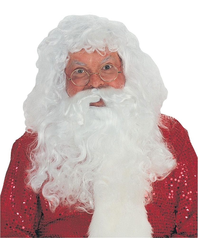 Picture of Santa Claus Wig and Beard Set