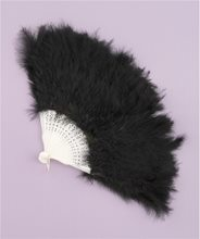 Picture of Feather Fan Black