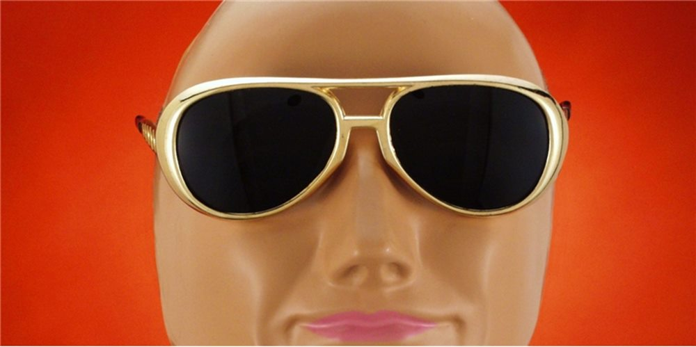 Picture of Elvis Rock N Roll Glasses