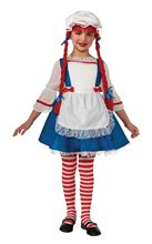Picture of Rag Doll Girl Child Costume