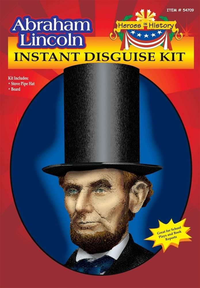 Picture of Abraham Lincoln Instant Disguise Kit